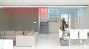 sistema radiante soffitto a parete