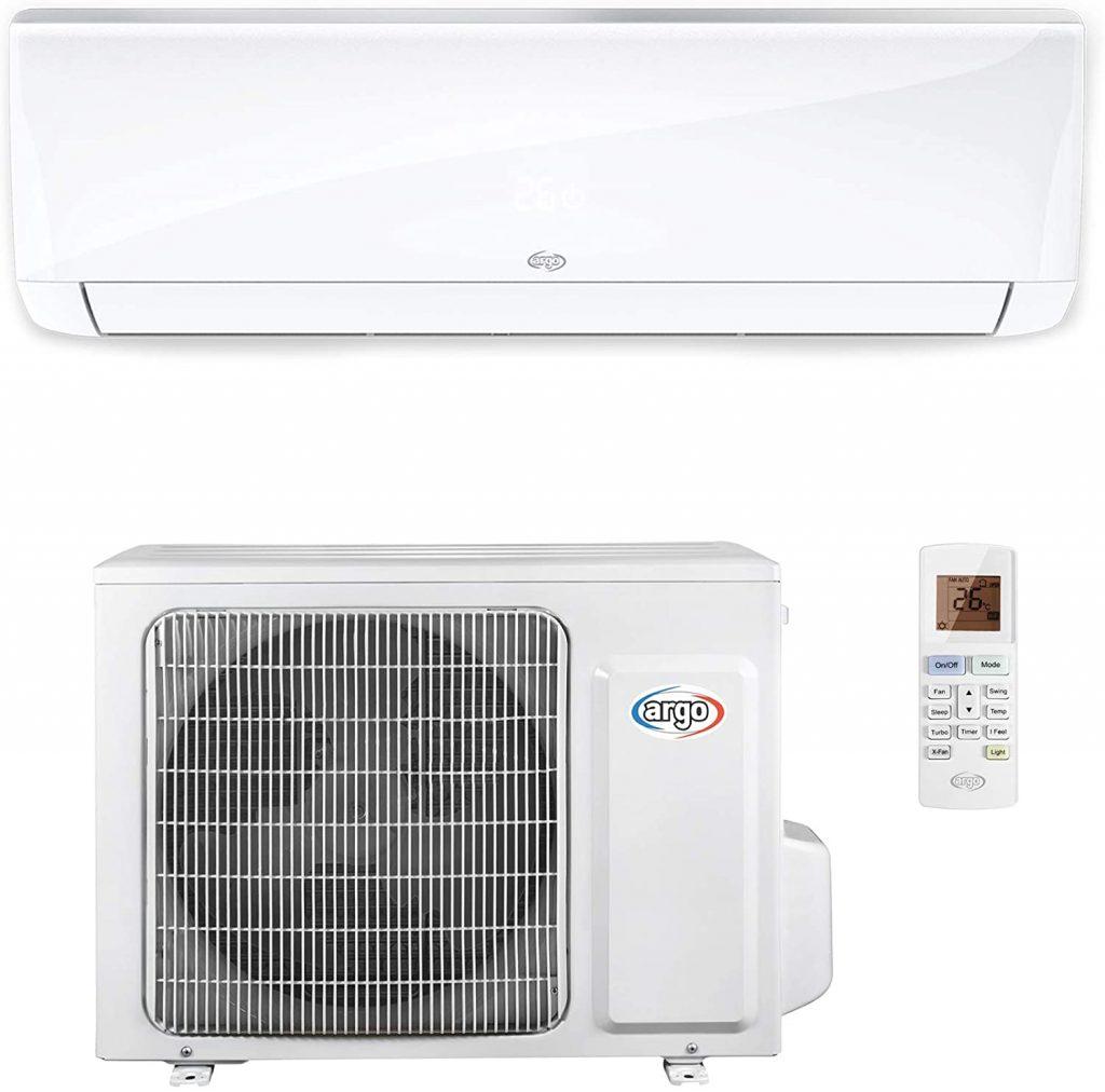 ARGO Ecowall 12 Climatizzatore Fisso, DC Inverter, senza WiFi, con pompa di calore, Bianco, 12000 BTU/h migliori climatizzatori 2020