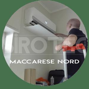 assistenza condizionatori maccarese nord