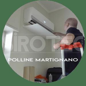 assistenza condizionatori Polline Martignano