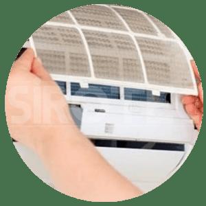 pulizia filtri condizionatori roma