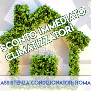 sconto immediato climatizzatori roma